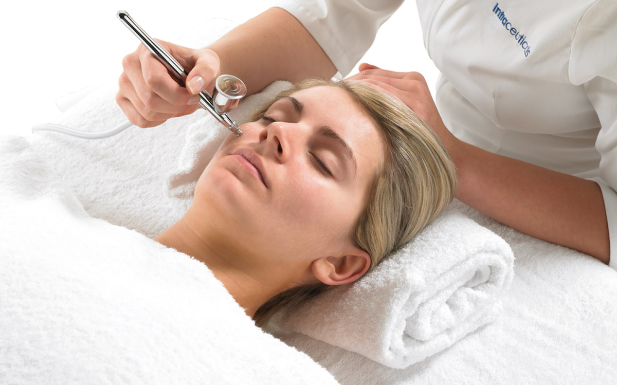 different treatments in salon