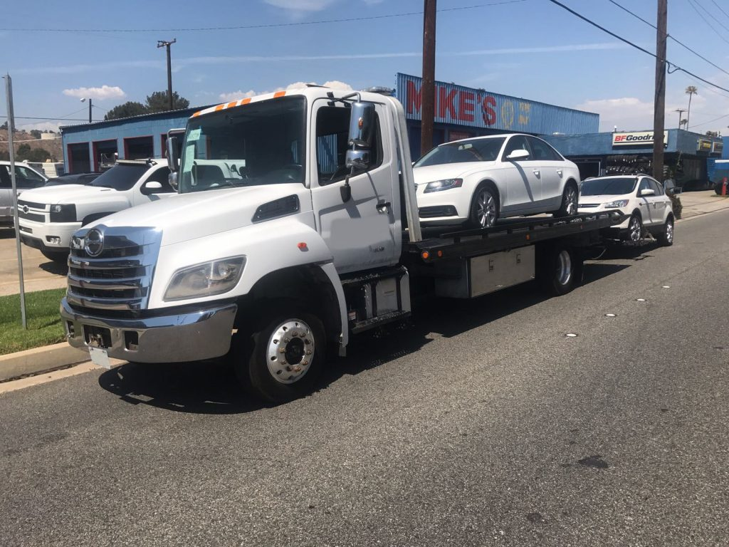 hire towing service